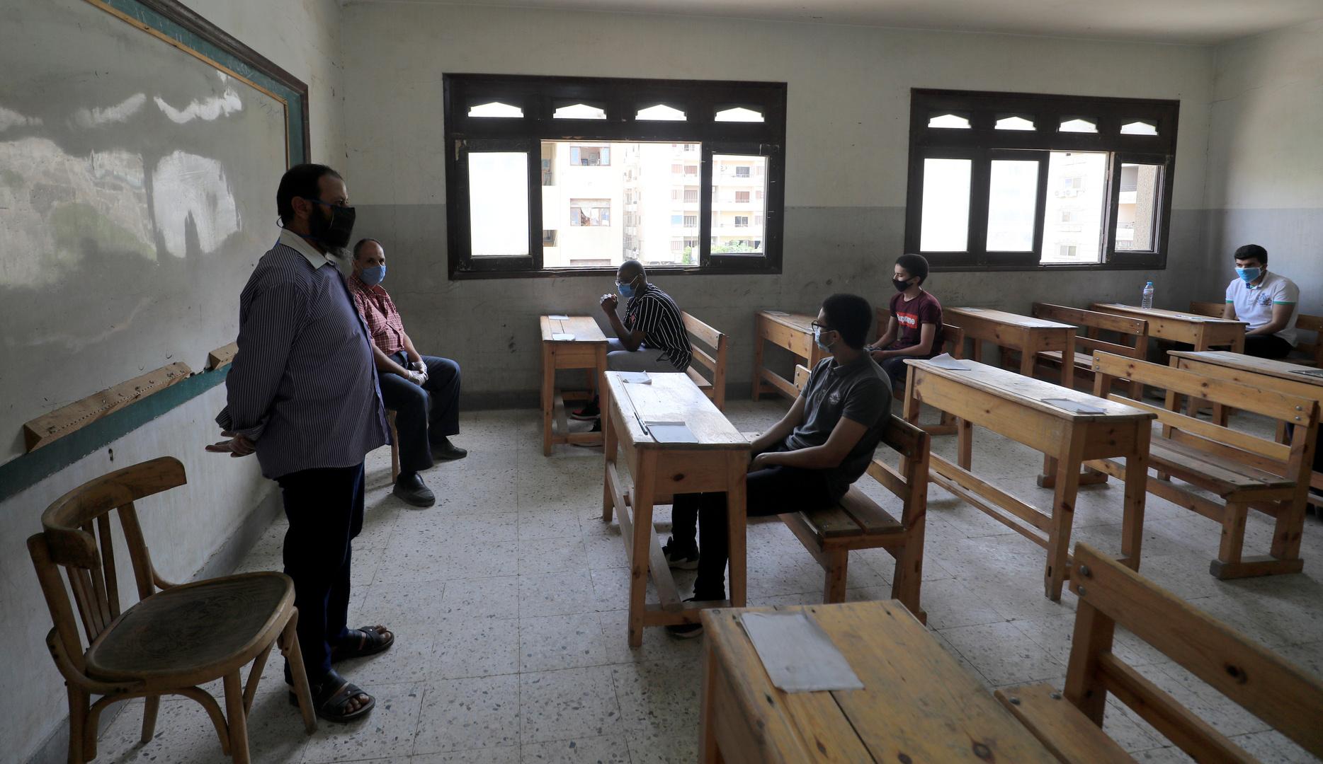 امتحانات الثانوية العامة بمصر في 2020