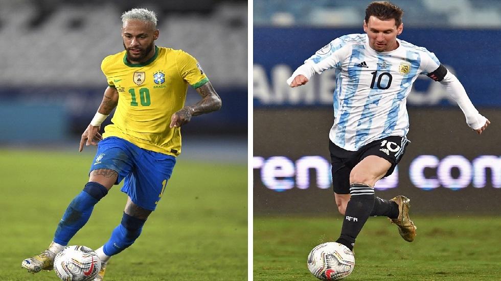 التشكيلة المتوقعة لملحمة البرازيل والأرجنتين في نهائي كوبا أمريكا