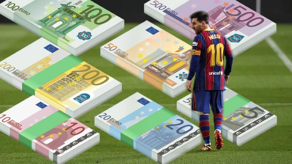 ليونيل ميسي يخسر 100 ألف يورو يوميا