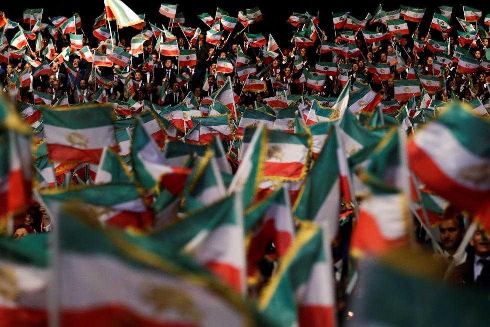 فعالية لمنظمة مجاهدي خلق الإيرانية