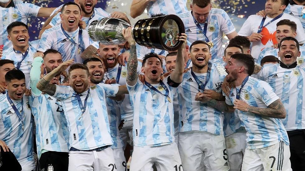انظر .. الأرجنتين تهزم البرازيل لتتوج بلقب كوبا أمريكا