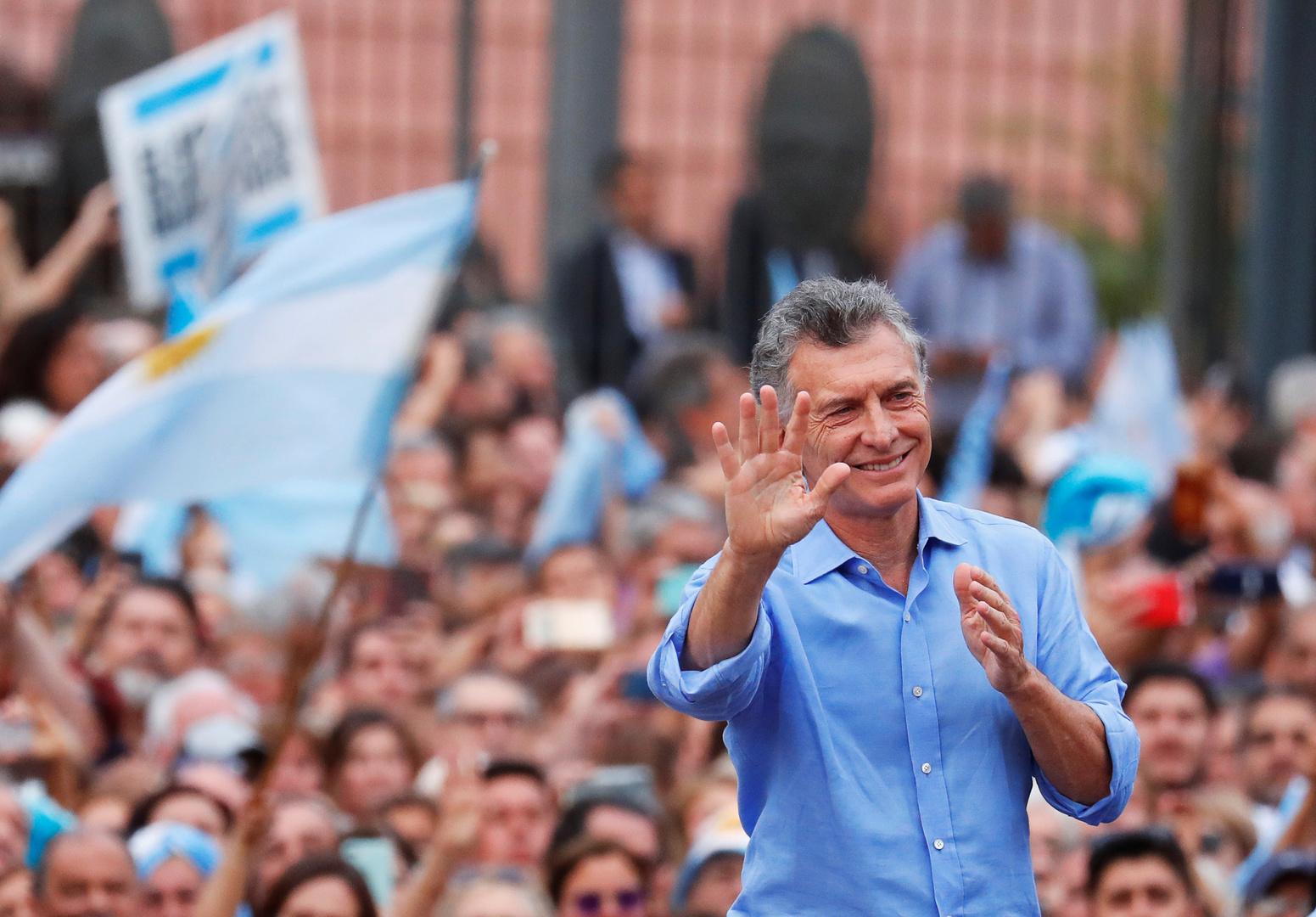 الرئيس الأرجنتيني السابق ماوريسيو ماكري