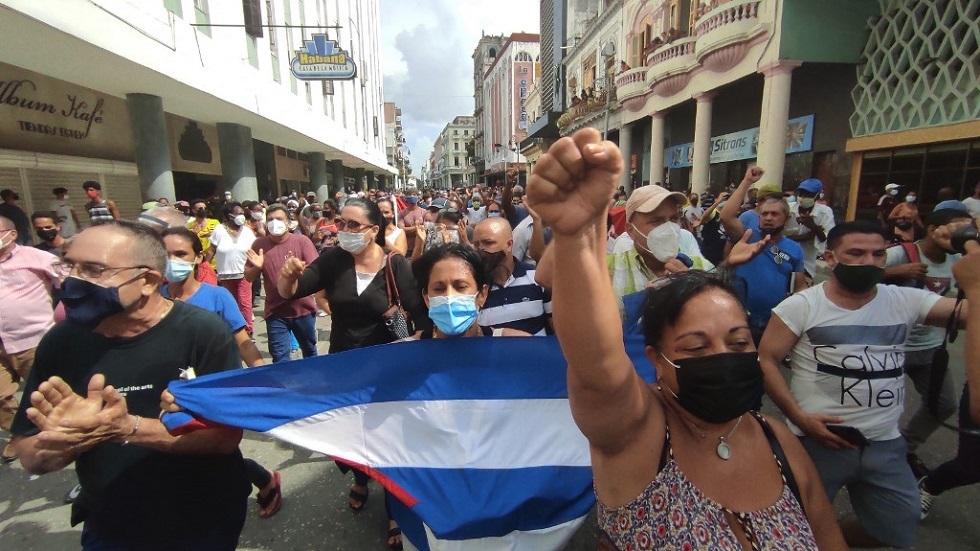 كوبا.. احتجاجات ضد الحكومة في مدن عديدة والرئيس يدعو أنصاره لمواجهة