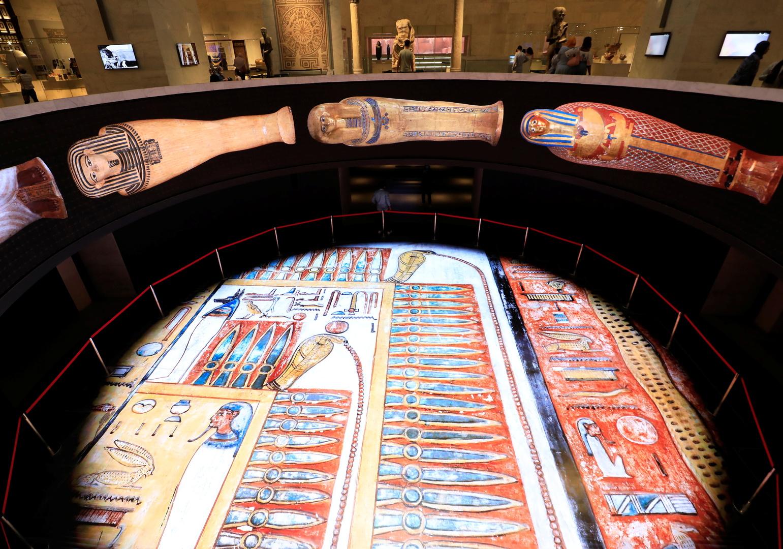 وزير الأوقاف السوري يزور المتحف القومي للحضارة المصرية (صورة)