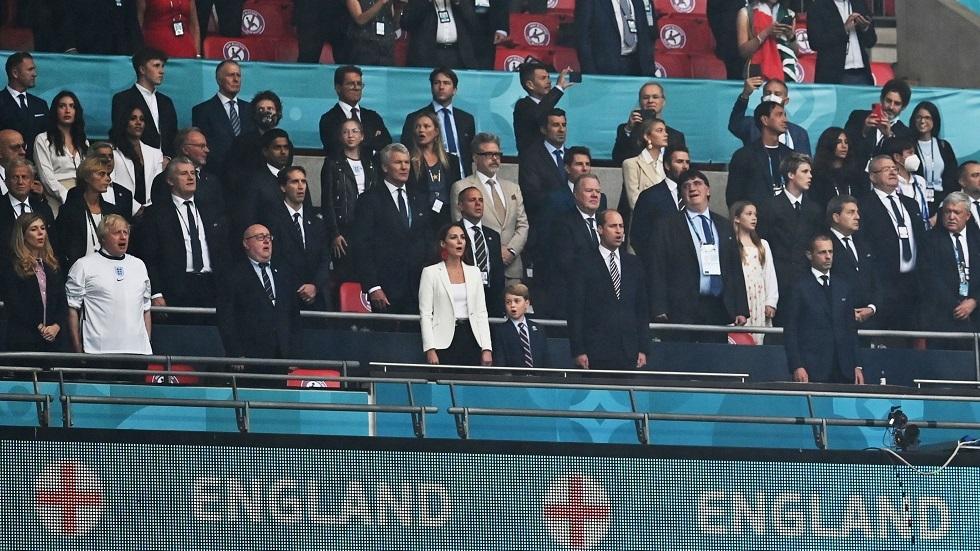 رد فعل الأمير البريطاني وليام وزوجته كاثرين على هزيمة إنجلترا في نهائي