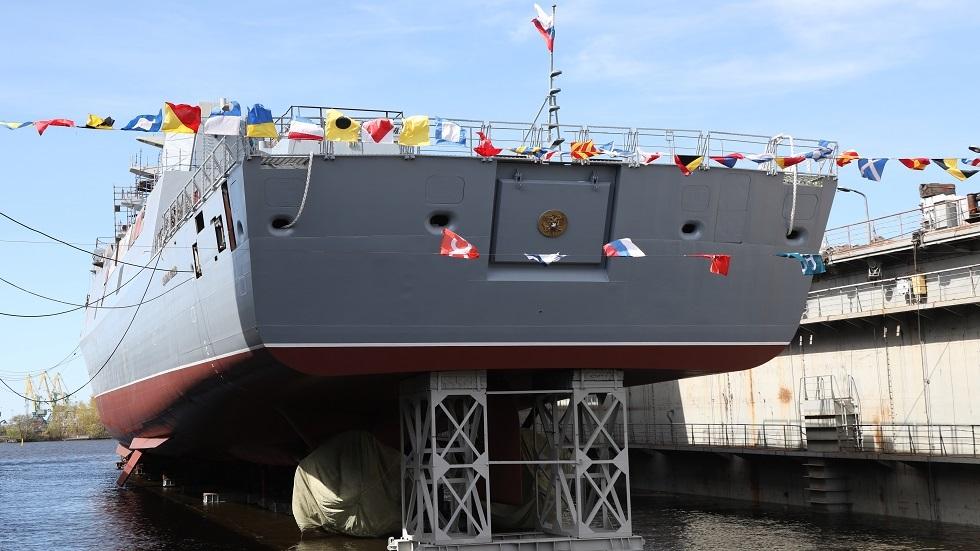الجيش الروسي يكشف عن أول سفينة تحمل صواريخ