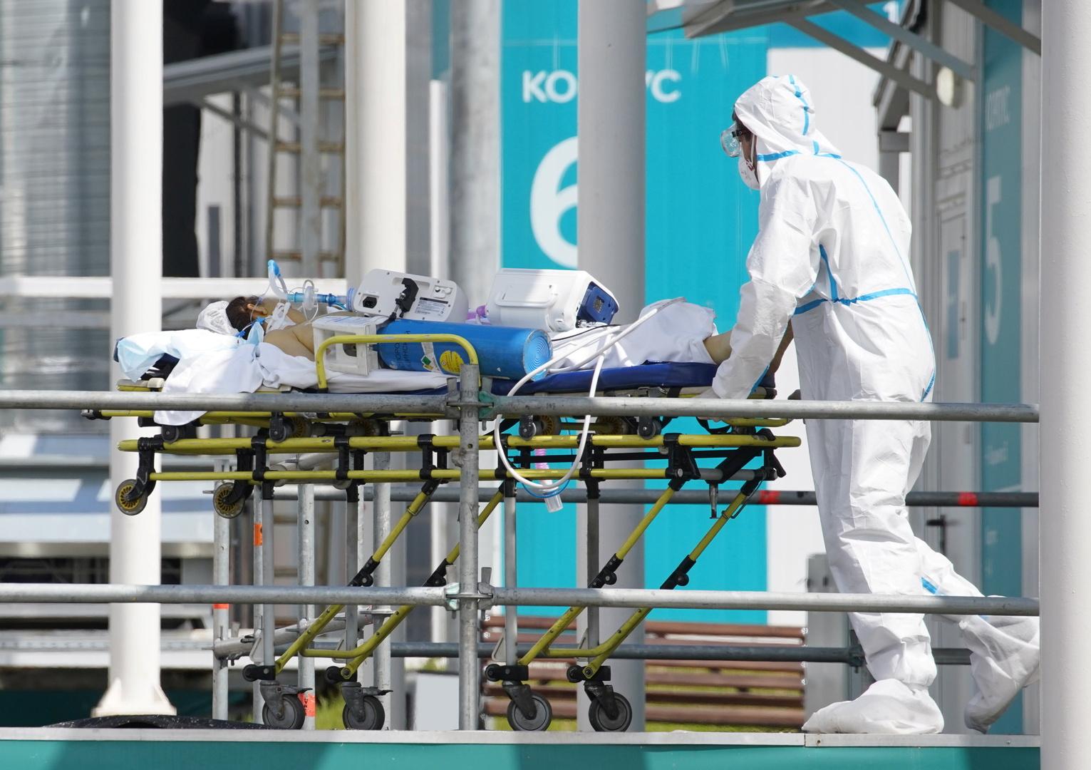 روسيا.. 25140 إصابة جديدة بفيروس كورونا