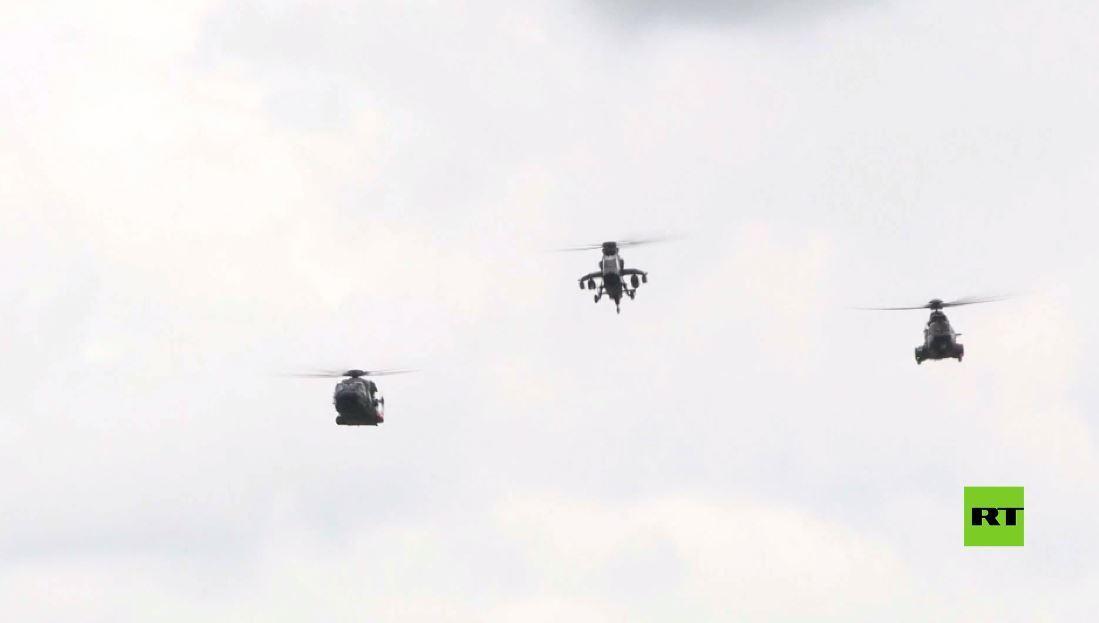 بروفة الاستعراض الجوي قبيل يوم الباستيل في باريس