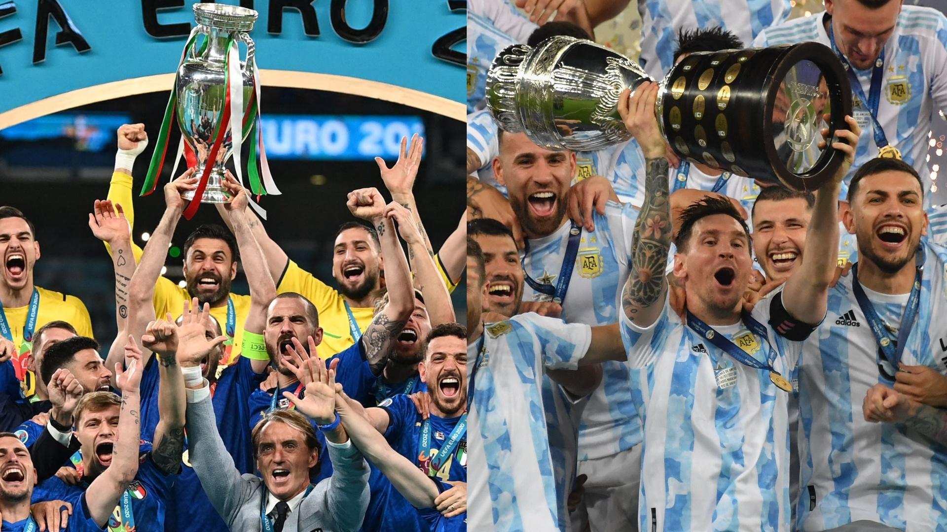 كأس السوبر الدولي المنتظر بين بطلي اليورو وكوبا أمريكا