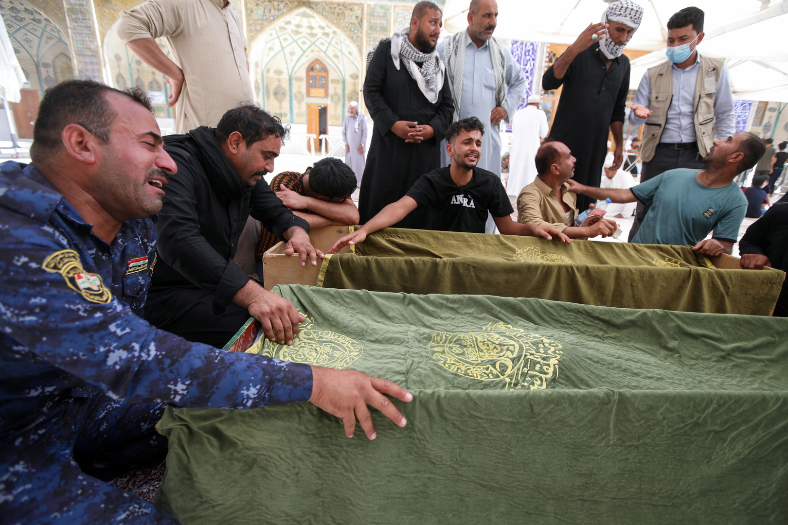 RT تنشر أسماء ضحايا حريق مستشفى الحسين في العراق: عشرات الجثث غير معروفة