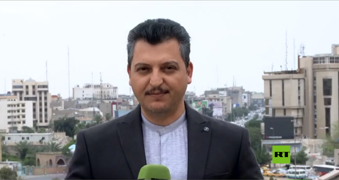 مراسل RT في بغداد أشرف العزاوي