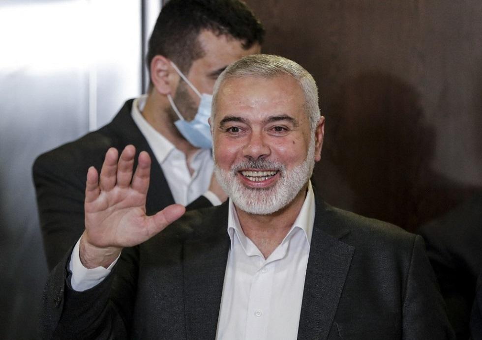 إسماعيل هنية، رئيس المكتب السياسي لحركة حماس الفلسطينية