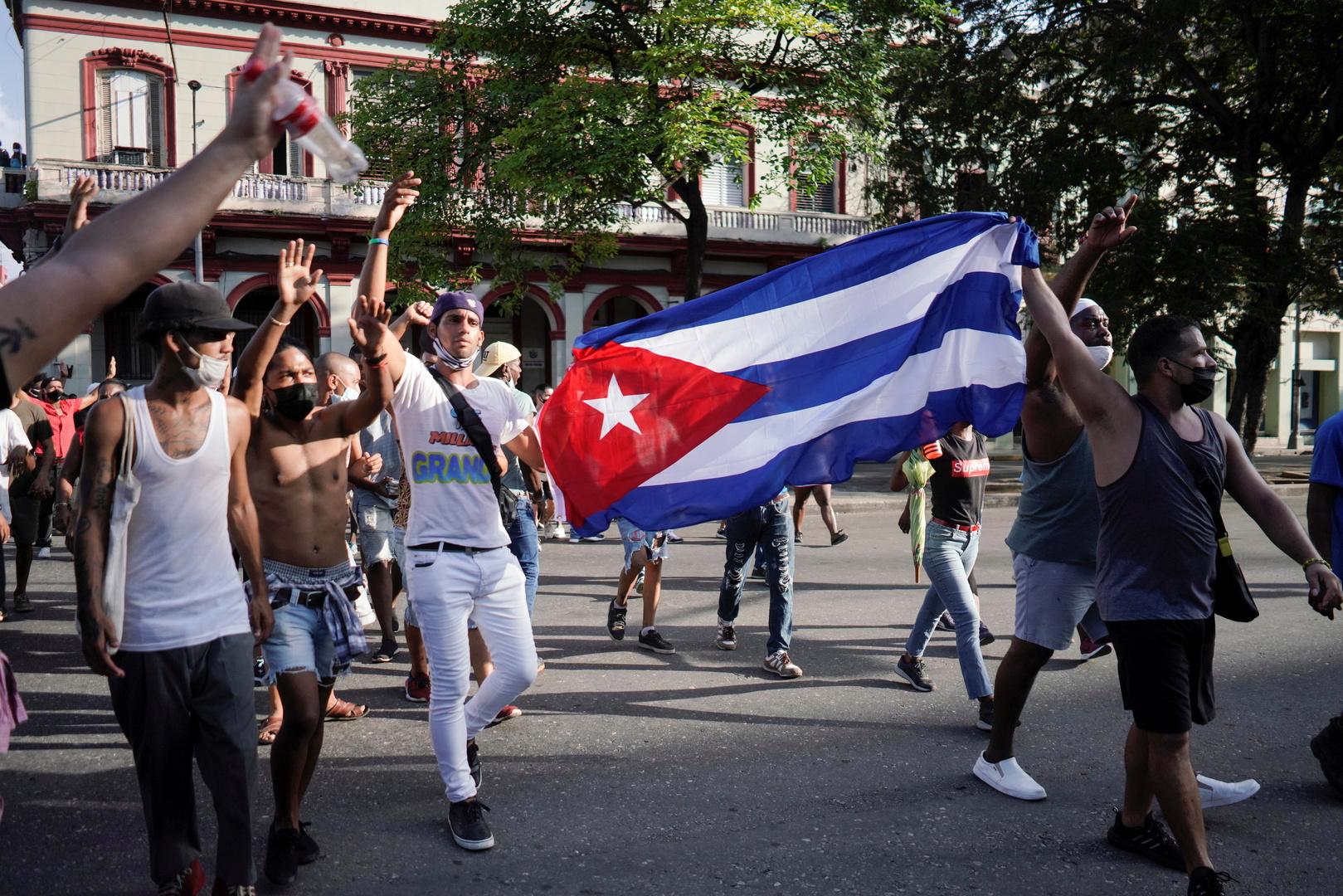 موسكو: واشنطن تبدي عجرفة في تحميل الحكومة الكوبية سبب الاحتجاجات في البلاد