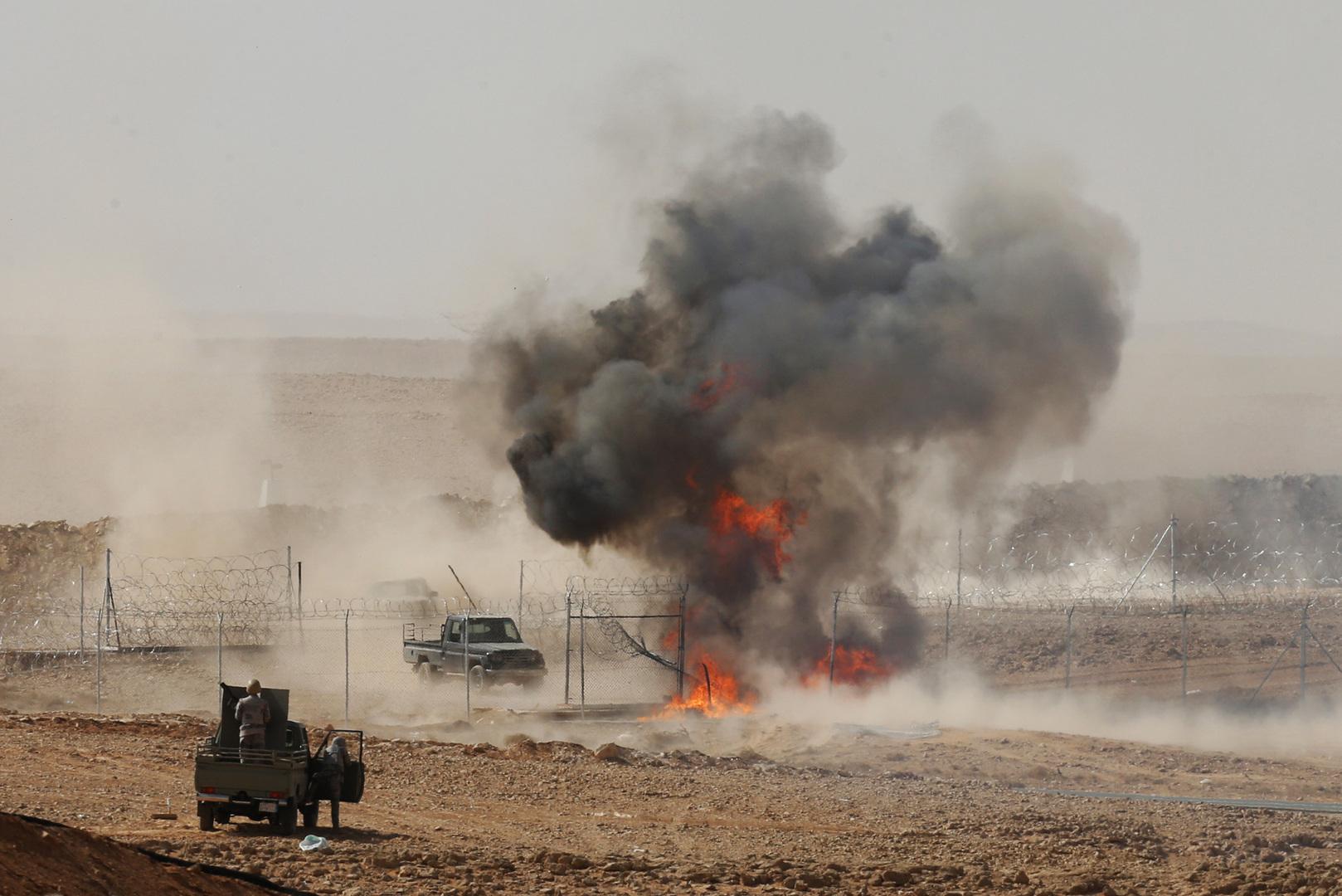 وزارة دفاع السعودية توضح طبيعة انفجار خارج مدينة الخرج