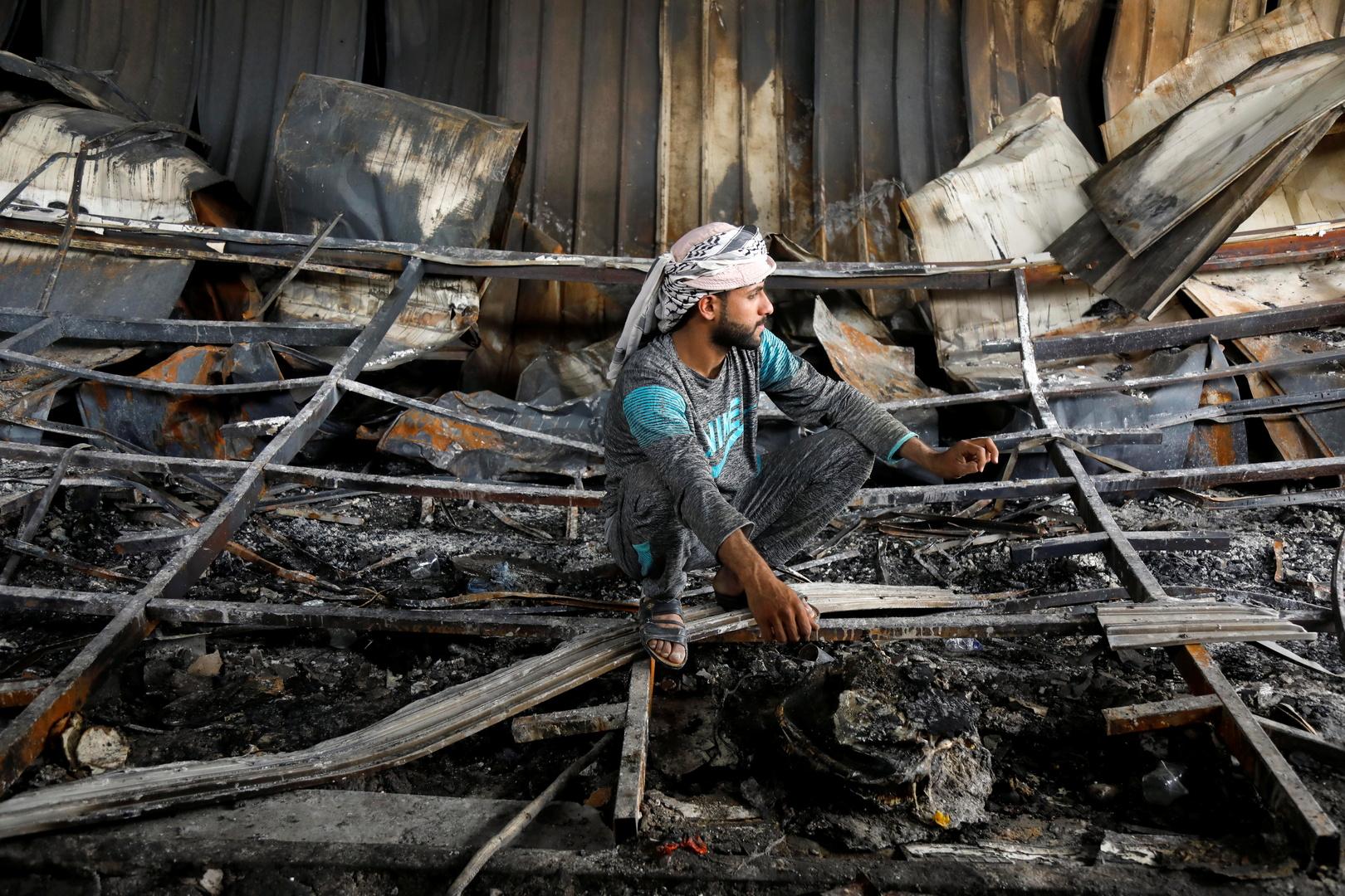 وزارة الصحة العراقية تعلن الحصيلة الرسمية لضحايا حريق مستشفى الحسين التعليمي