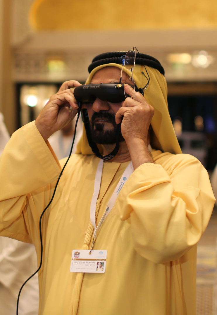 الإمارات..محمد بن راشد يدشن منصة