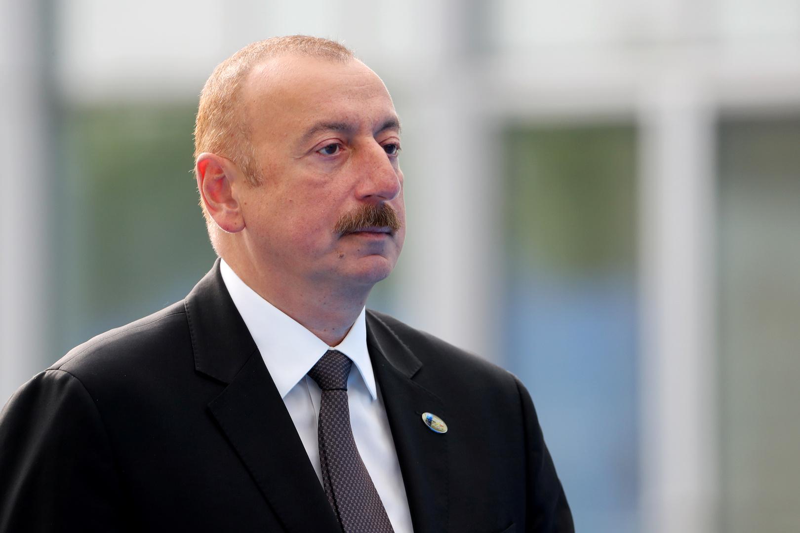 رئيس أذربيجان: أرمينيا غير جاهزة لتوقيع اتفاق سلام معنا وهو
