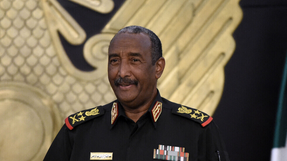 رئيس مجلس السيادة في السودان الفريق أول ركن عبد الفتاح البرهان