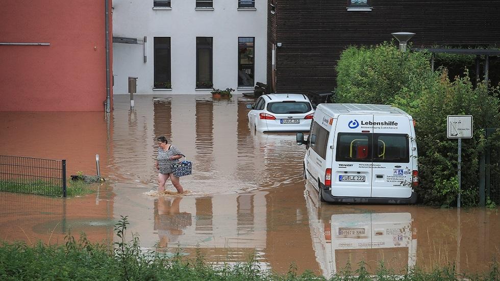 6 قتلى وعشرات المفقودين جراء فيضانات في ألمانيا