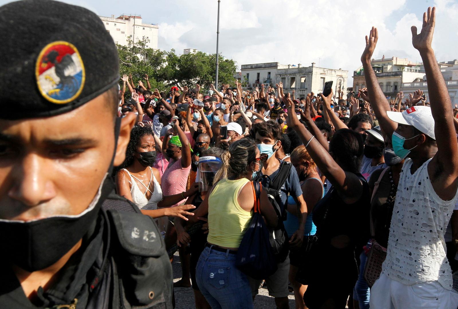 رئيس كوبا: مشاهد الاحتجاجات التي يراها العالم مفبركة وبلدنا يواجه حربا غير تقليدية