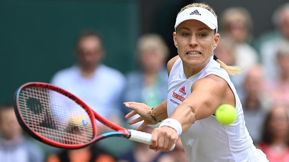 الألمانية كيربر تنسحب من منافسات التنس في أولمبياد طوكيو