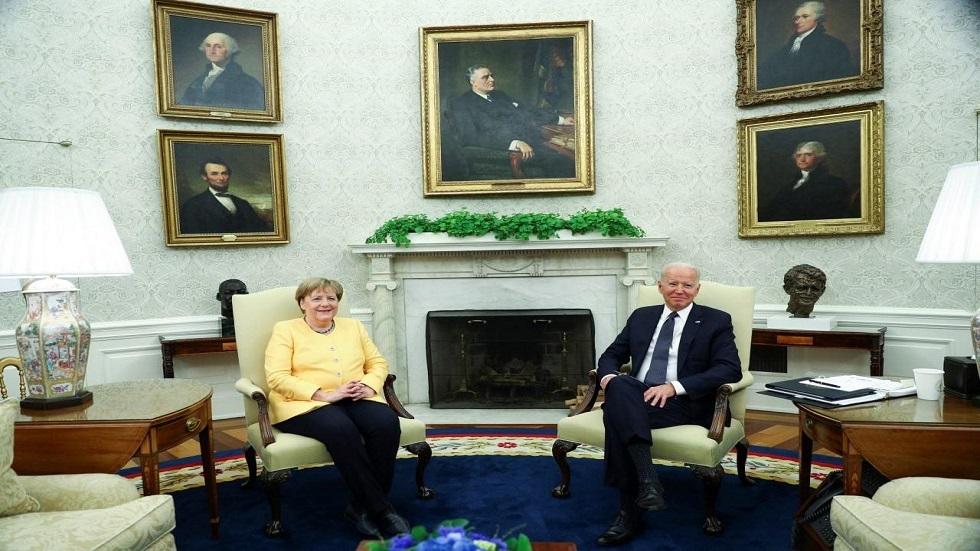 ميركل في زيارة وداع.. أول زعيمة أوروبية في البيت الأبيض منذ انتخاب بايدن
