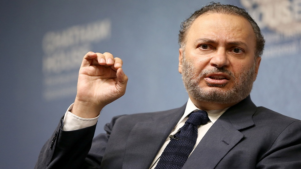 أنور قرقاش، مستشار رئيس الإمارات