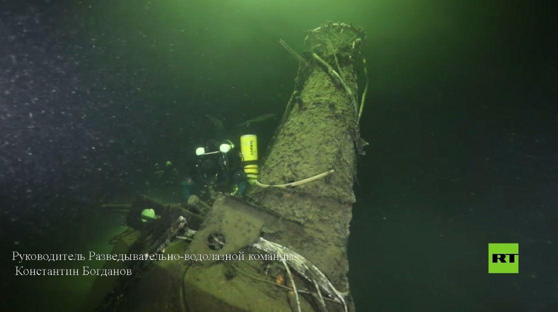 بالفيديو.. العثور على غواصة من الحرب العالمية الثانية في خليج فنلندا