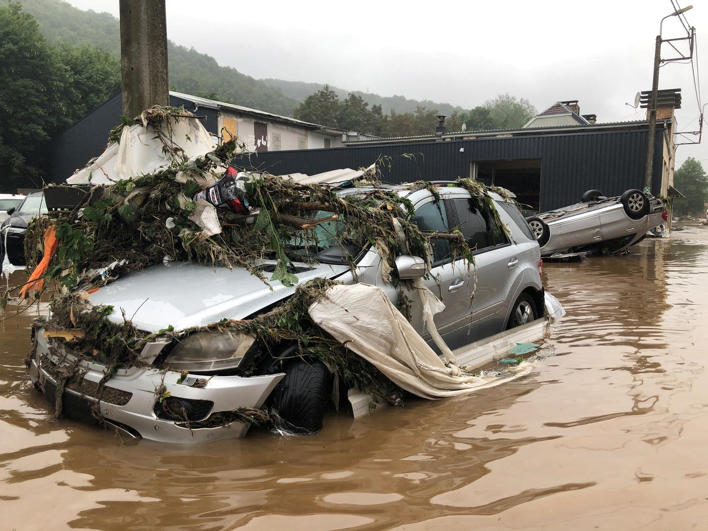 في حصيلة غير نهائية.. ارتفاع ضحايا الفيضانات في بلجيكا إلى 15
