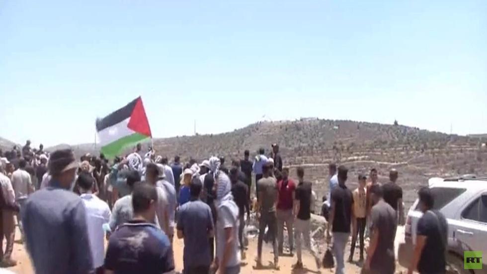 مواجهات متفرقة  في مناطق بالضفة الغربية