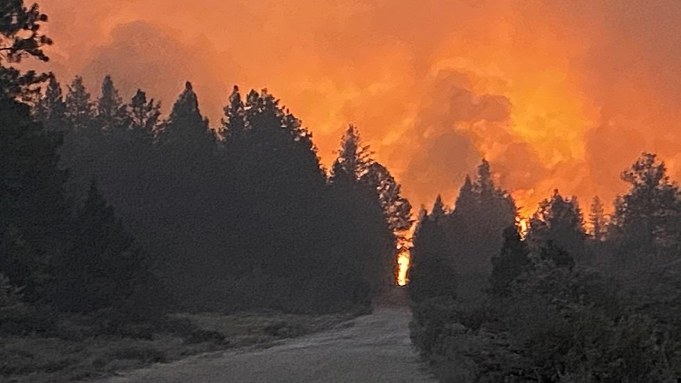 لا يزال معظمه خارج السيطرة.. اتساع نطاق حريق غابات بولاية أوريغون الأمريكية