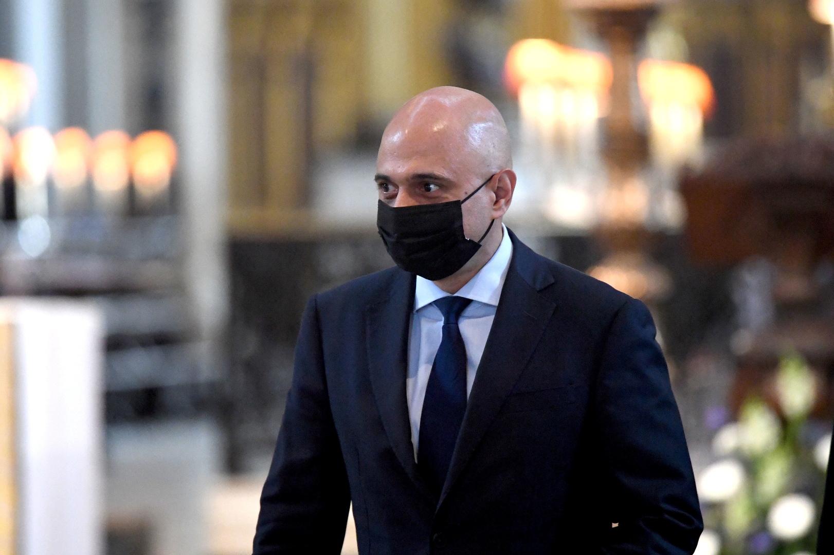 إصابة وزير الصحة البريطاني الجديد بكورونا