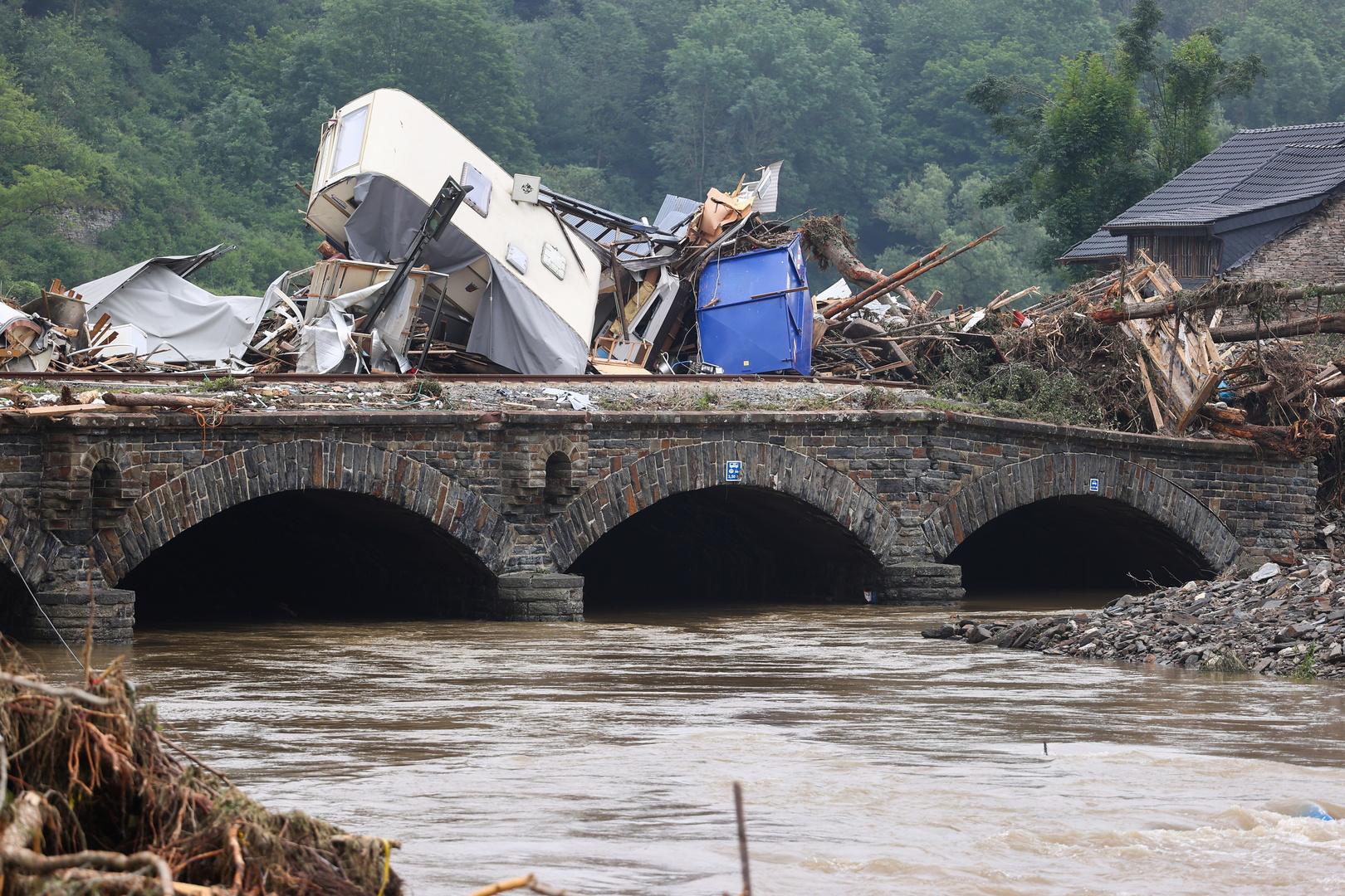 رئيس وزراء هولندا: فيضانات أوروبا مرتبطة بالتغير المناخي