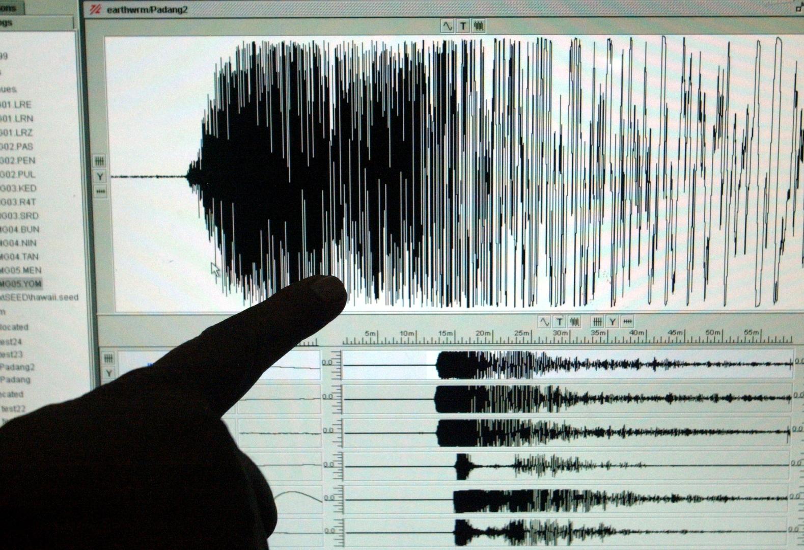 زلزال بقوة 5.4 درجة يضرب جنوب الفلبين