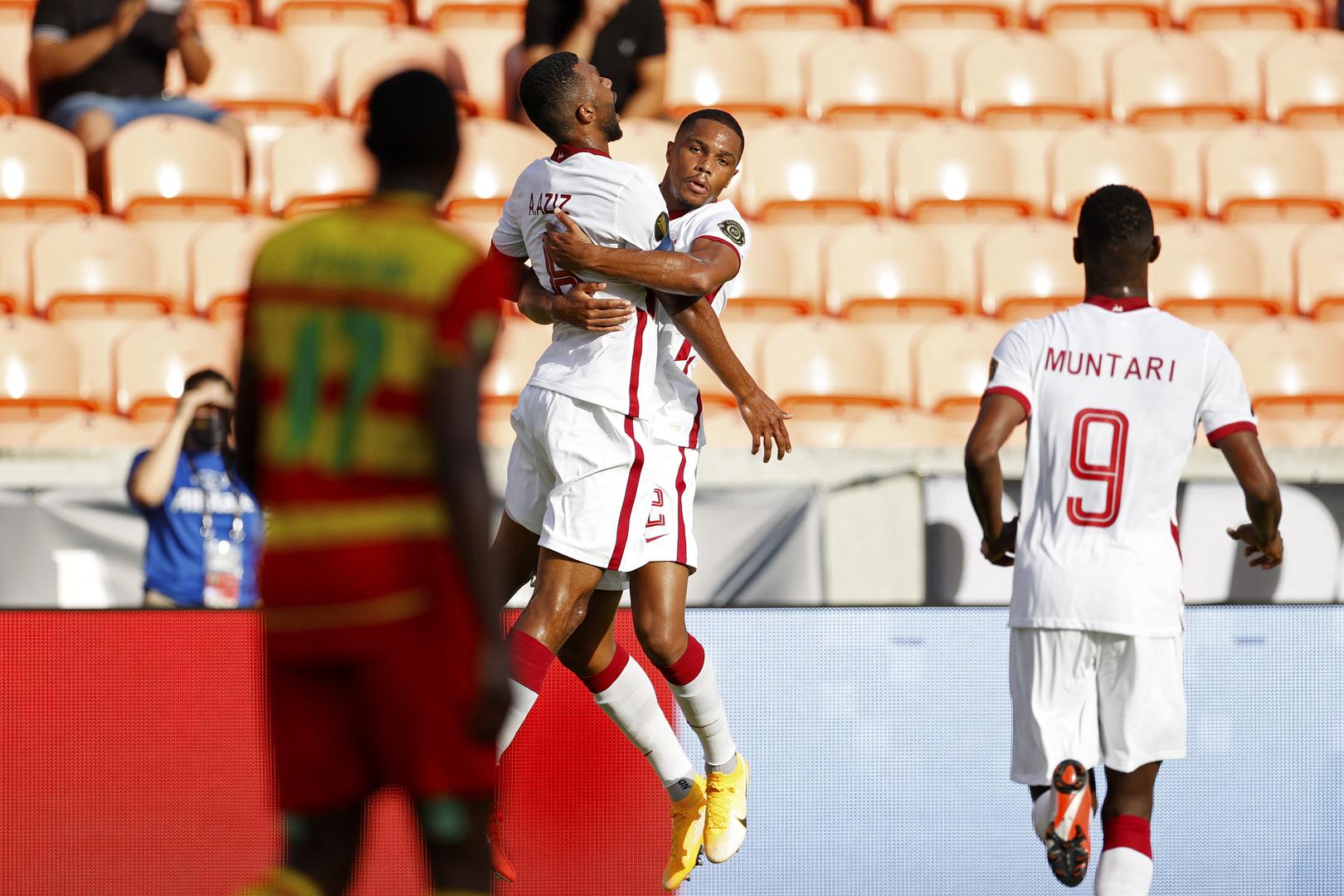 قطر تحقق أول انتصار في الكأس الذهبية (فيديو)