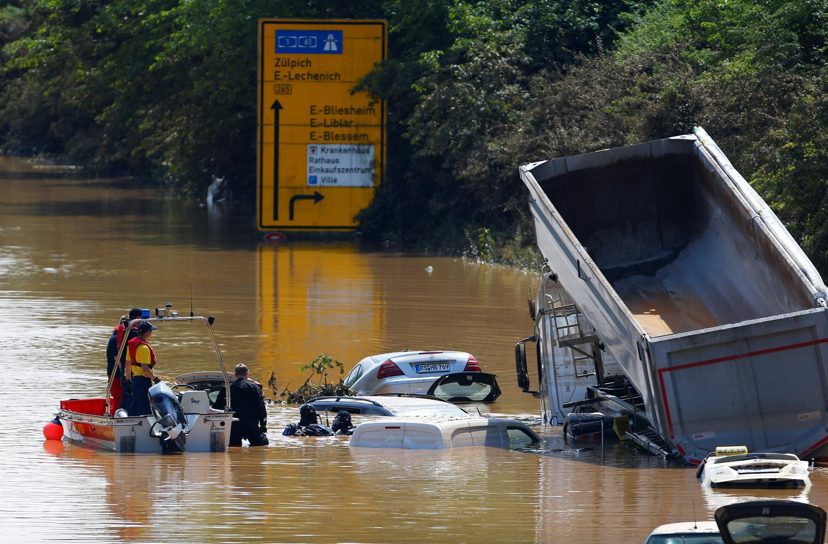حصيلة ضحايا الفيضانات في أوروبا ترتفع إلى 183 قتيلا أغلبهم في ألمانيا