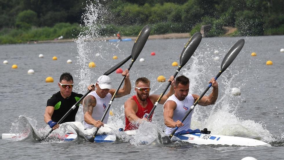 انسحاب روسيا من مسابقة التجديف الرباعي للرجال في أولمبياد طوكيو
