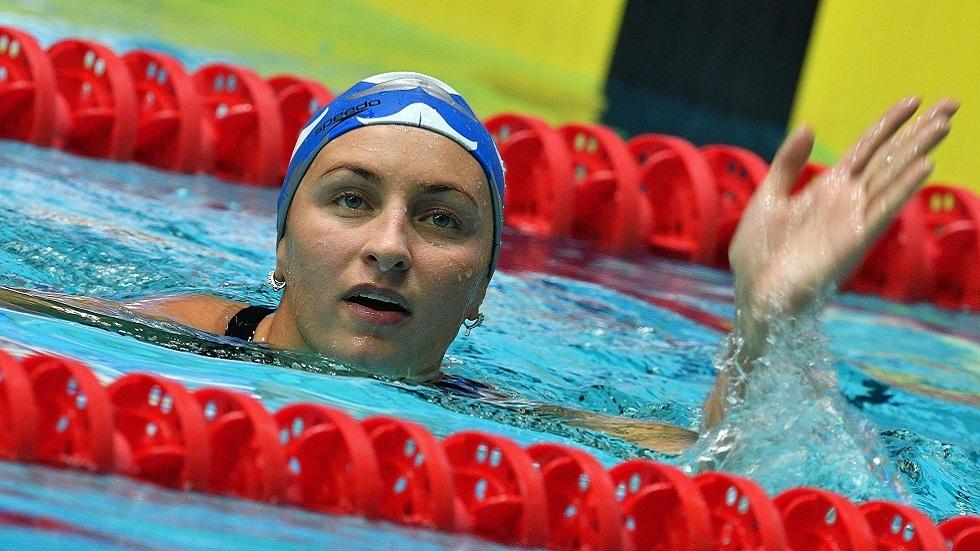 السباحة الروسية فيرونيكا أندروسينكو