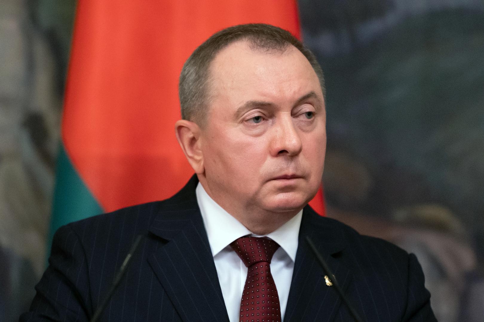 وزير خارجية بيلاروس: مينسك قد تعتمد على روسيا والصين على خلفية التحديات الجديدة