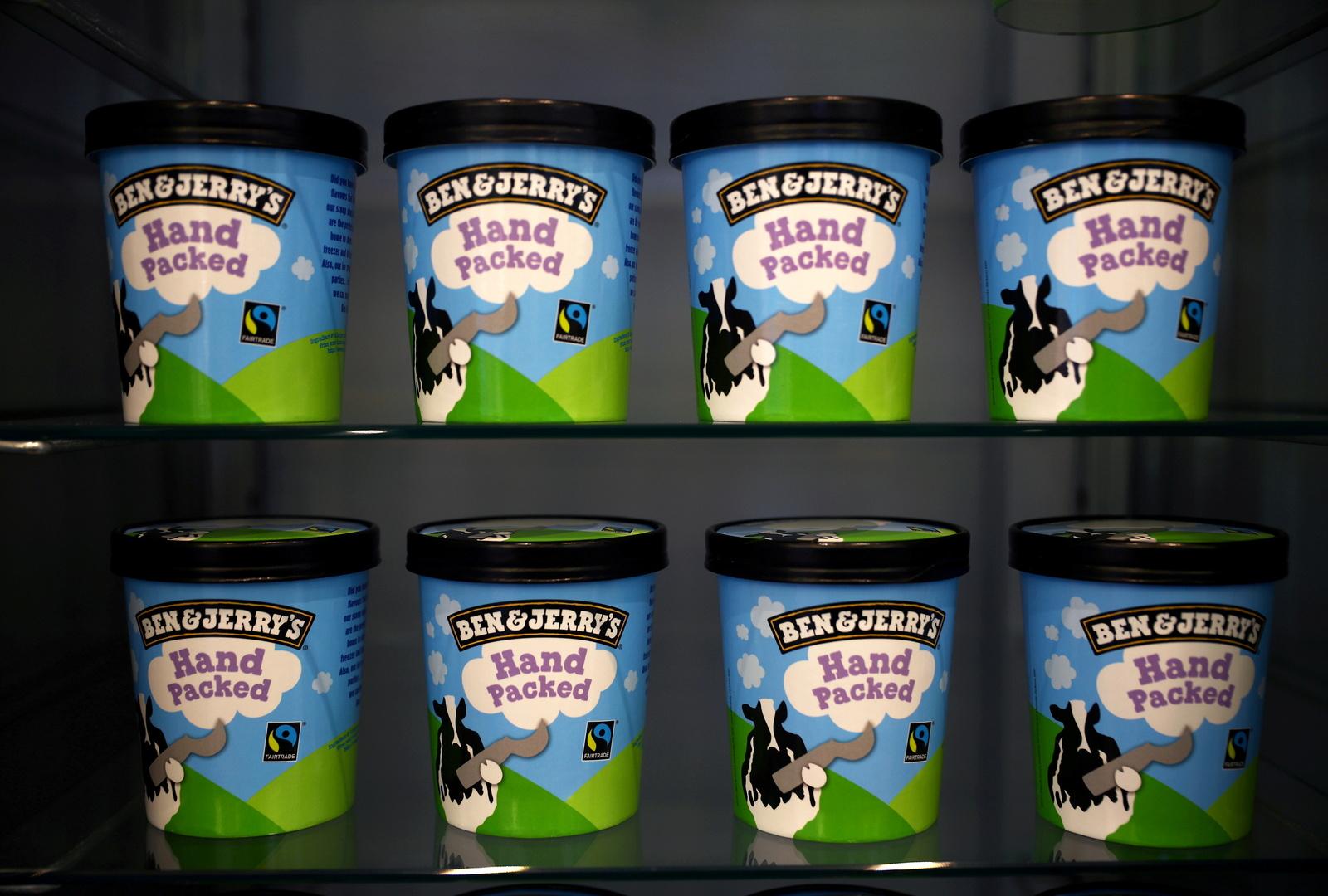 شركة مثلجات أمريكية شهيرة تعلن مقاطعة إسرائيل.. وتل أبيب تعلّق
