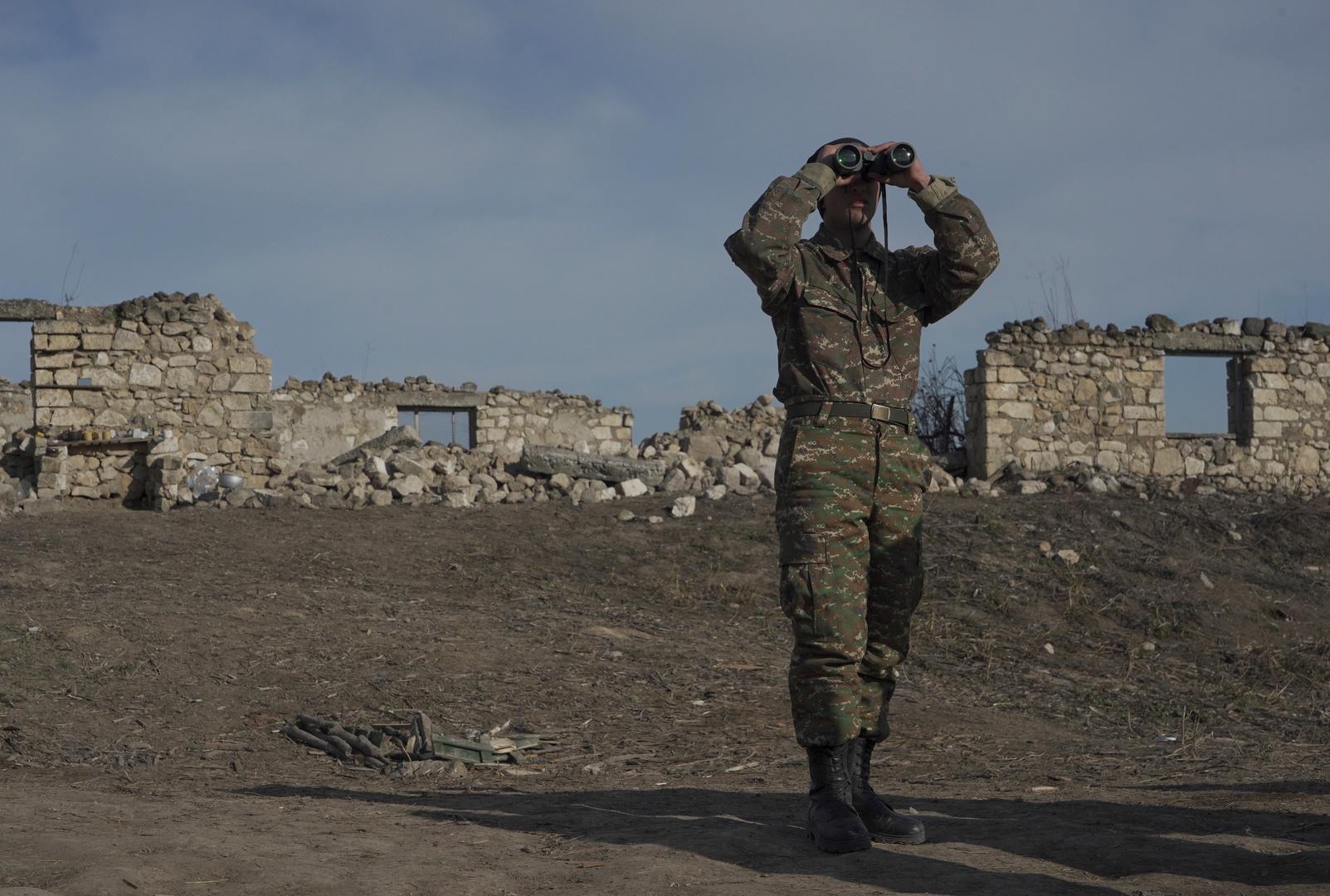 وزارة الدفاع الأرمنية: إطلاق نار من قبل القوات الأذربيجانية على الحدود