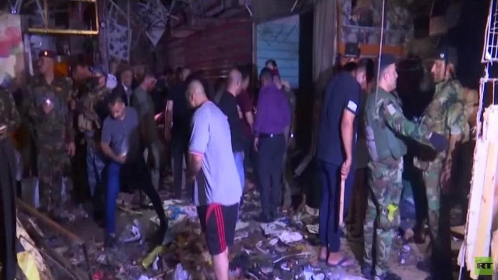 العراق.. قتلى وجرحى بانفجار في مدينة الصدر