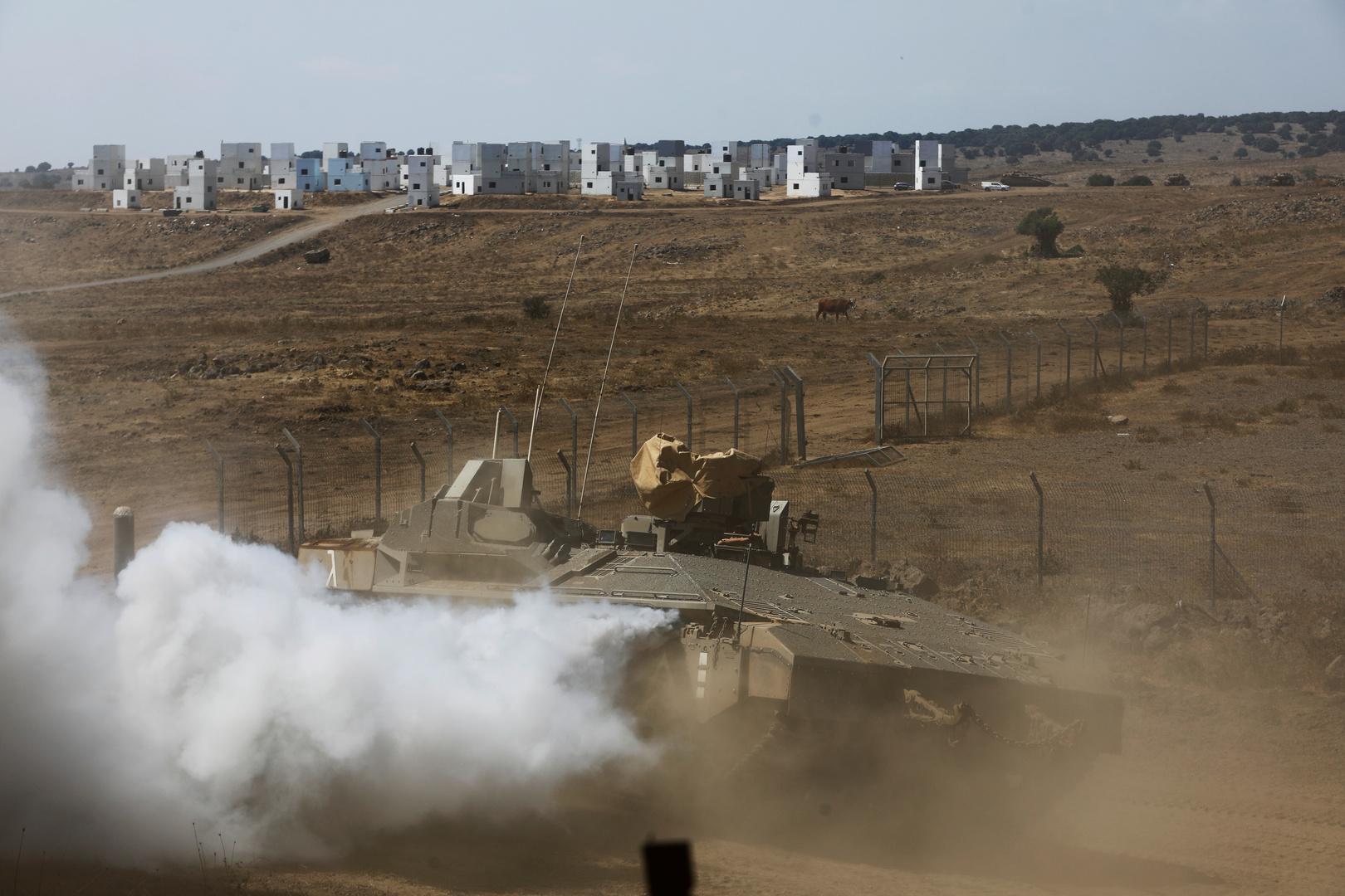 إسرائيل تقصف المنطقة الحدودية في جنوب لبنان ردا على إطلاق قذيفتين