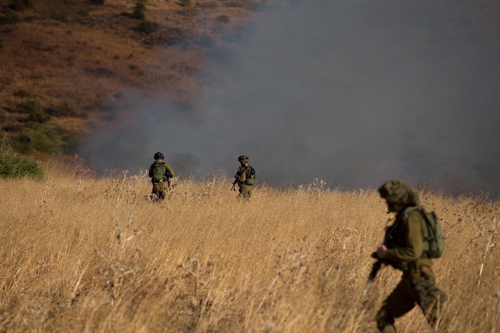غانتس: لن نسمح للأزمة في لبنان بأن تصبح تهديدا أمنيا لإسرائيل