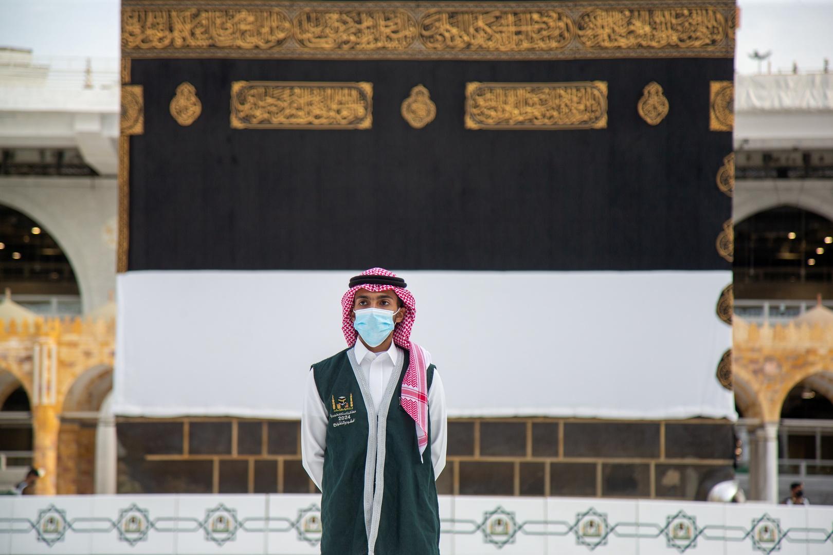 قوات الطوارئ السعودية تنظم شعيرة رمي الجمرات