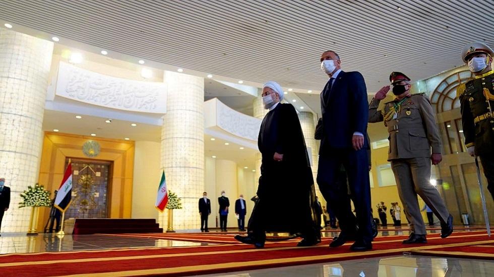 روحاني للكاظمي: أمن العراق واستقراره من أمننا