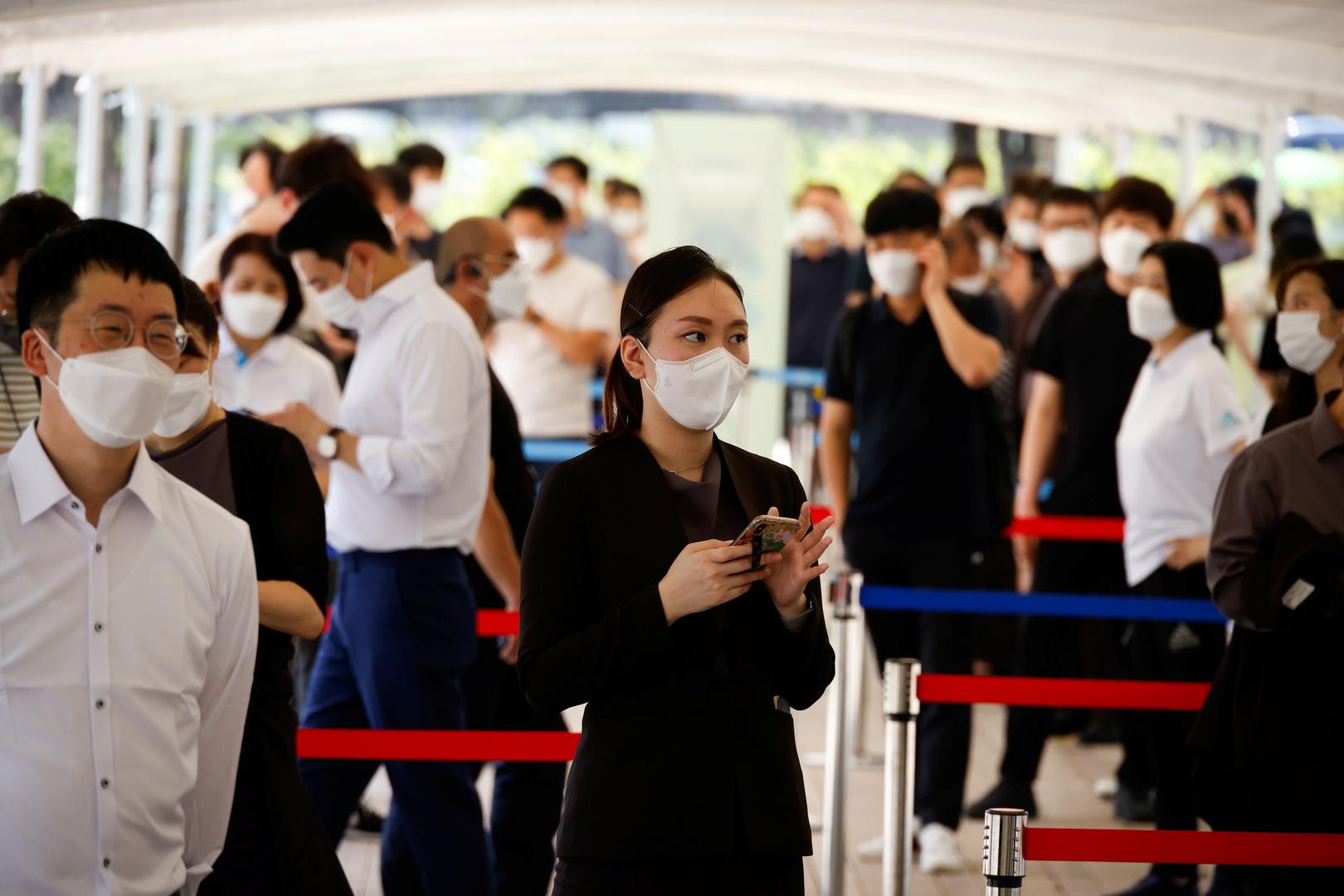 كوريا الجنوبية تسجل حصيلة قياسية جديدة بإصابات كورونا اليومية