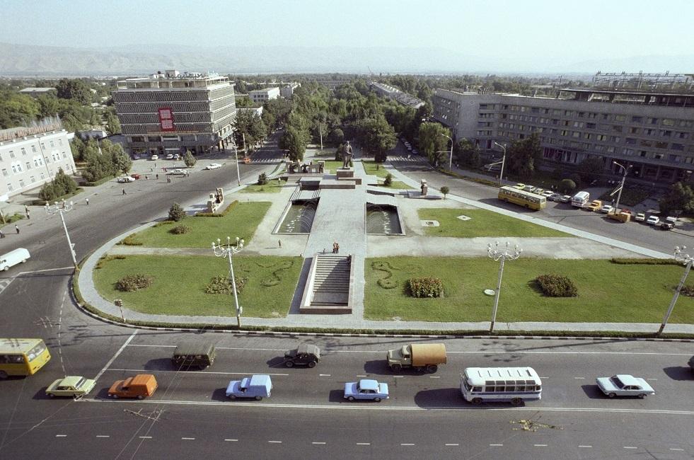 مدينة دوشانبيه عاصمة طاجيكستان