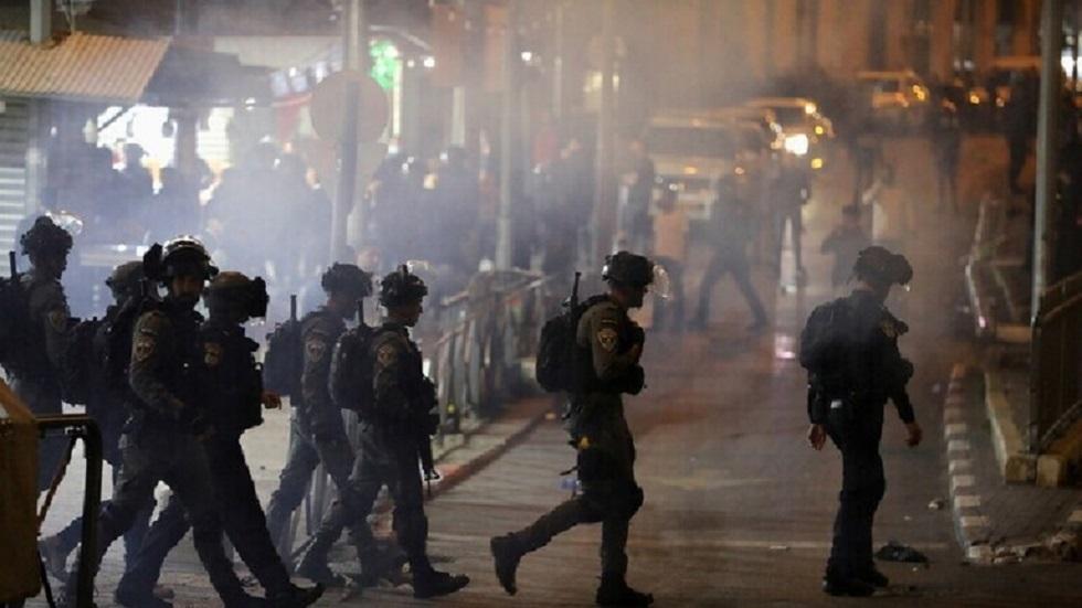 مستوطنون يشتبكون مع شرطة حرس الحدود الإسرائيلية في بؤرة استيطانية بالضفة الغربية