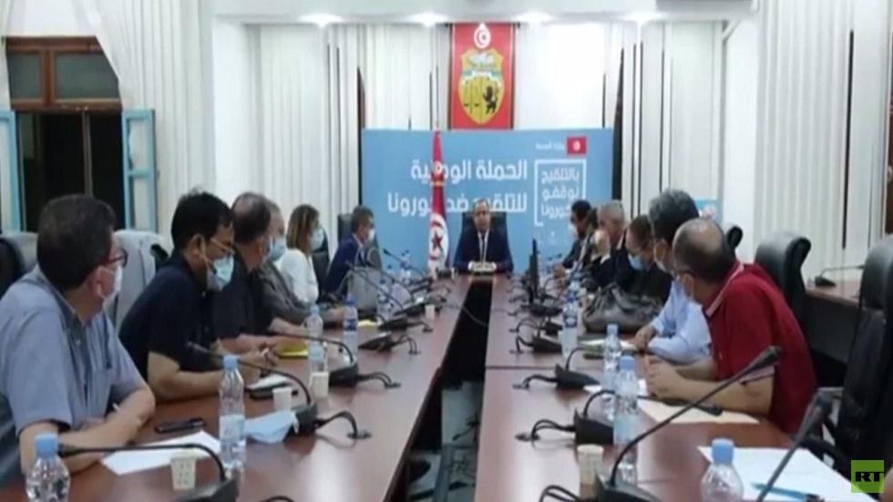 رئاسة الحكومة التونسية تقيل وزير الصحة